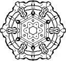 Just Mandala Coloring Page