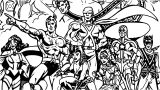 Justice League Coloring Page Wecoloringpage 32
