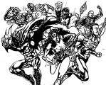 Justice League Coloring Page Wecoloringpage 34