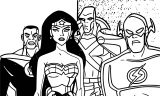Justice League Coloring Page Wecoloringpage 49