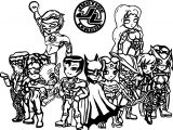 Justice League Coloring Page Wecoloringpage 80
