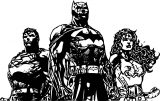 Justice League Coloring Page Wecoloringpage 87