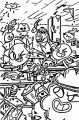 KABOOM Amazing World Of Gumball Class Coloring Page