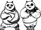 Kung Fu Panda Coloring Page 10