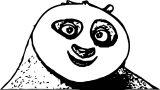 Kung Fu Panda Coloring Page 22