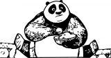 Kung Fu Panda Cook Shock Coloring Page