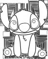 Lilo And Stitch Cute Coloring Pages
