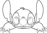 Lilo And Stitch Face Coloring Pages