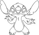 Lilo And Stitch Front Coloring Pages