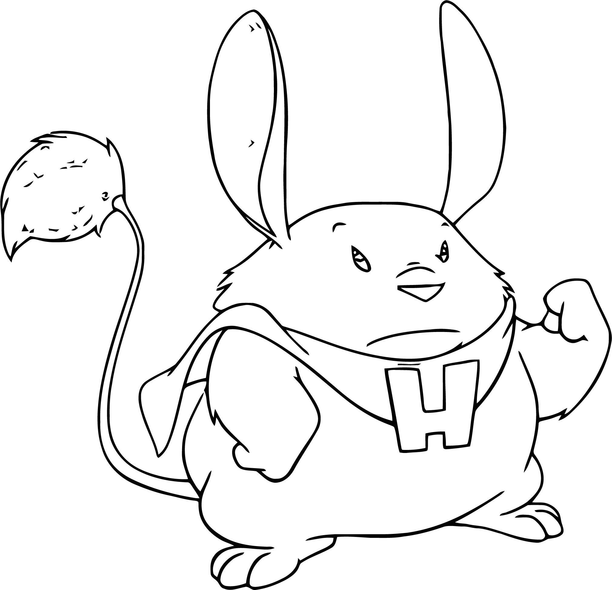 Lilo And Stitch Hamster Coloring Pages