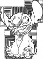 Lilo And Stitch Smile Just Coloring Pages