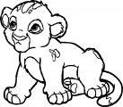 Lion Coloring Page 12