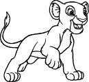 Lion Coloring Page 13