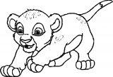 Lion Coloring Page 19