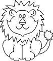 Lion Coloring Page 20