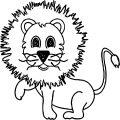 Lion Coloring Page 24