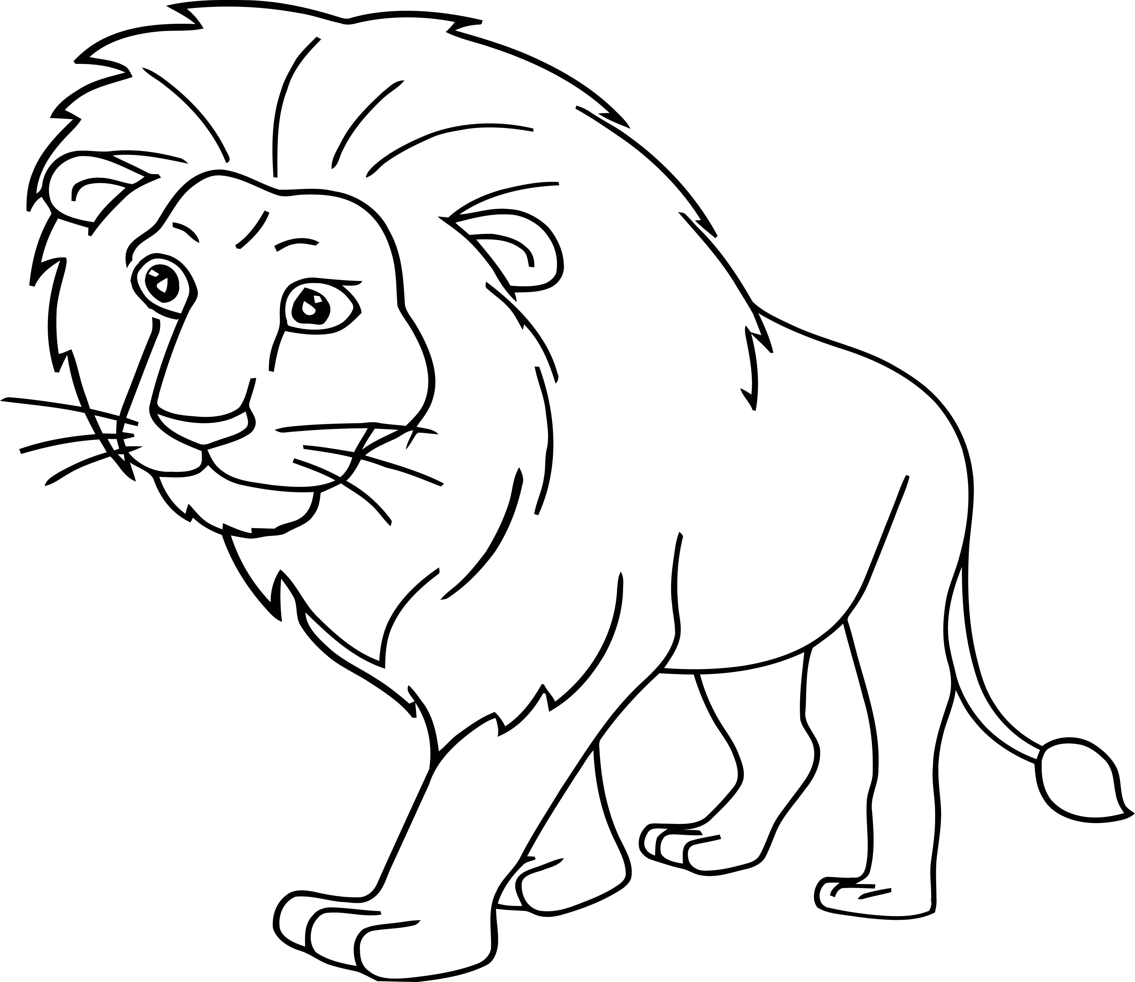 Lion Coloring Page 27