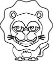 Lion Coloring Page 56