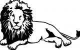 Lion Coloring Page 60