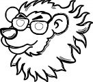 Lion Coloring Page 63