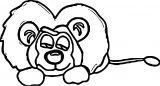Lion Coloring Page 66