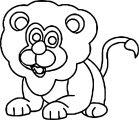 Lion Coloring Page 67