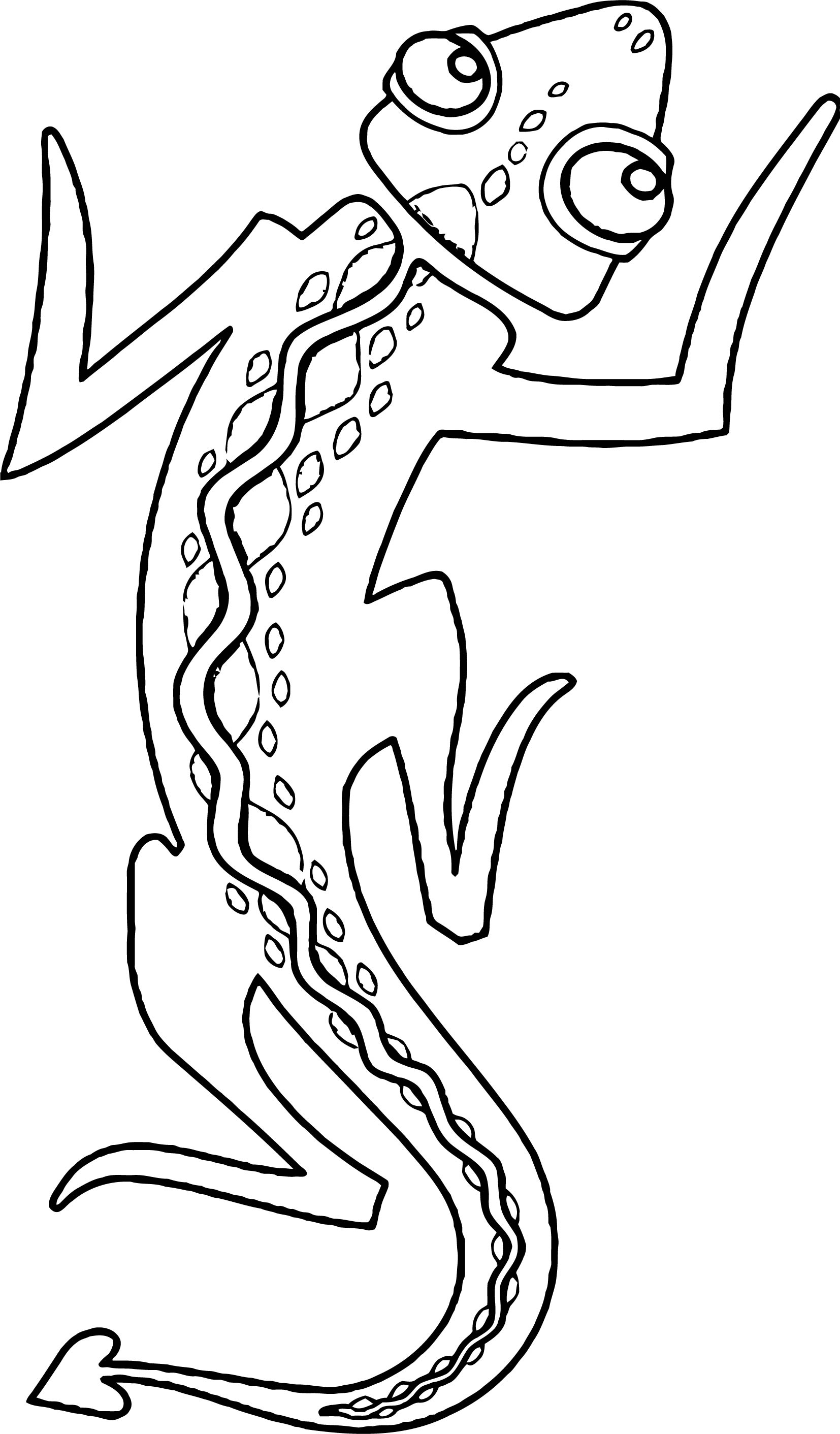 Lizard Coloring Page 29
