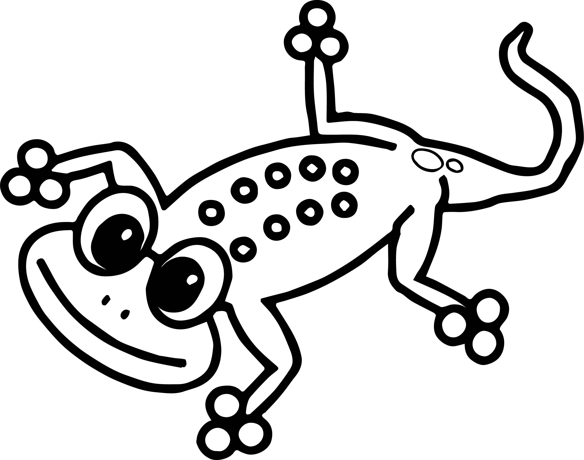 Lizard Coloring Page 32