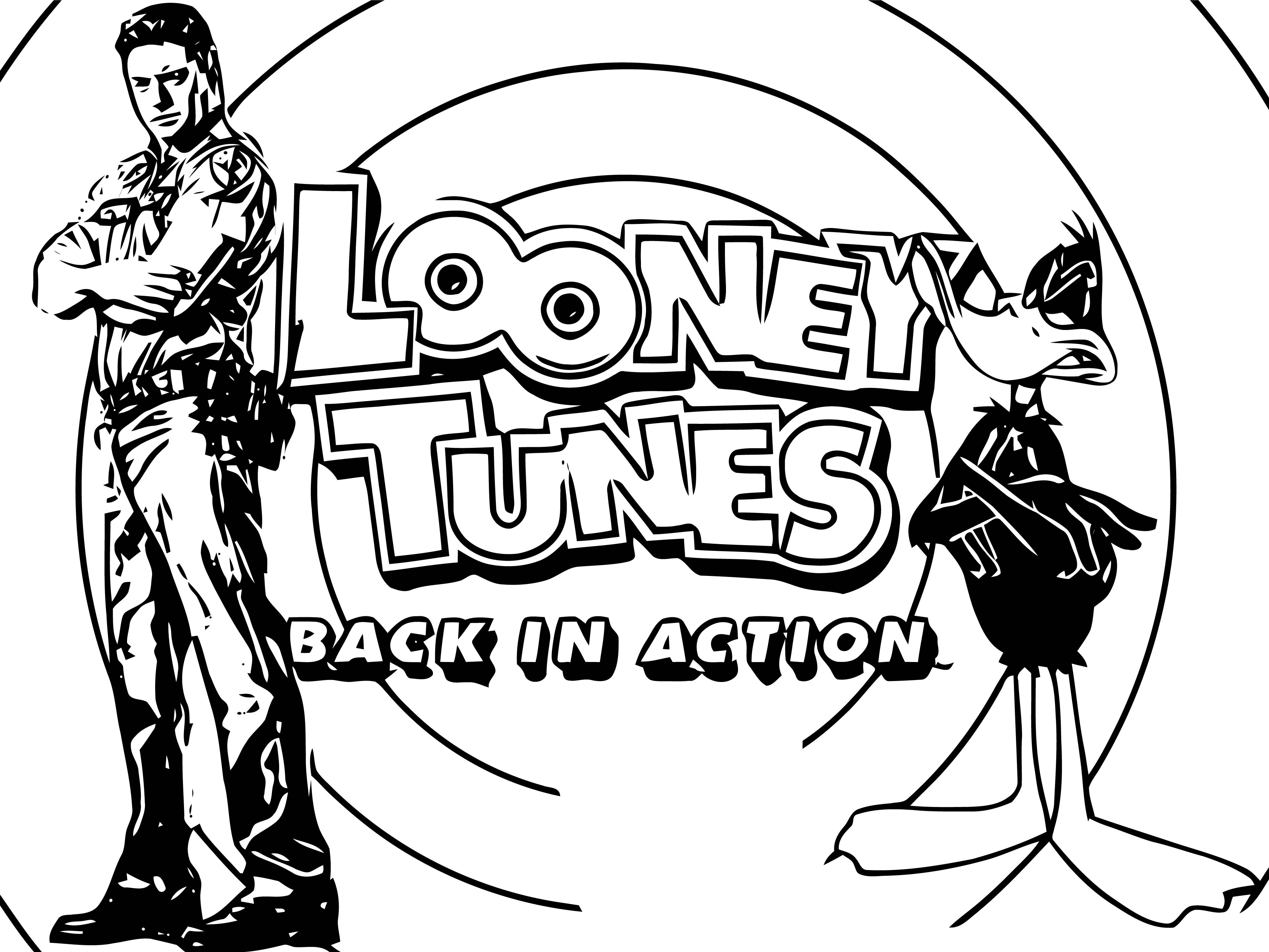 Looney Tunes Back In Action 5 The Looney Tunes Show Coloring Page