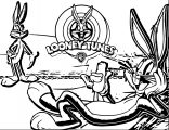 Looney Tunes Bugs Bunny The Looney Tunes Show Coloring Page