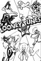 Looney Tunes Center Stage The Looney Tunes Show Coloring Page