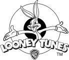 Looney Tunes Logo Tm The Looney Tunes Show Coloring Page
