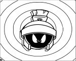 Looney Tunes Marvin Martian The Looney Tunes Show Coloring Page