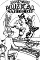 Looney Tunes Musical The Looney Tunes Show Coloring Page
