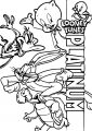 Looney Tunes Platinum Collection The Looney Tunes Show Coloring Page