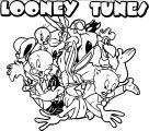 Looney Tunes Start Screen The Looney Tunes Show Coloring Page
