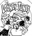 Looney Tunes Usa The Looney Tunes Show Coloring Page