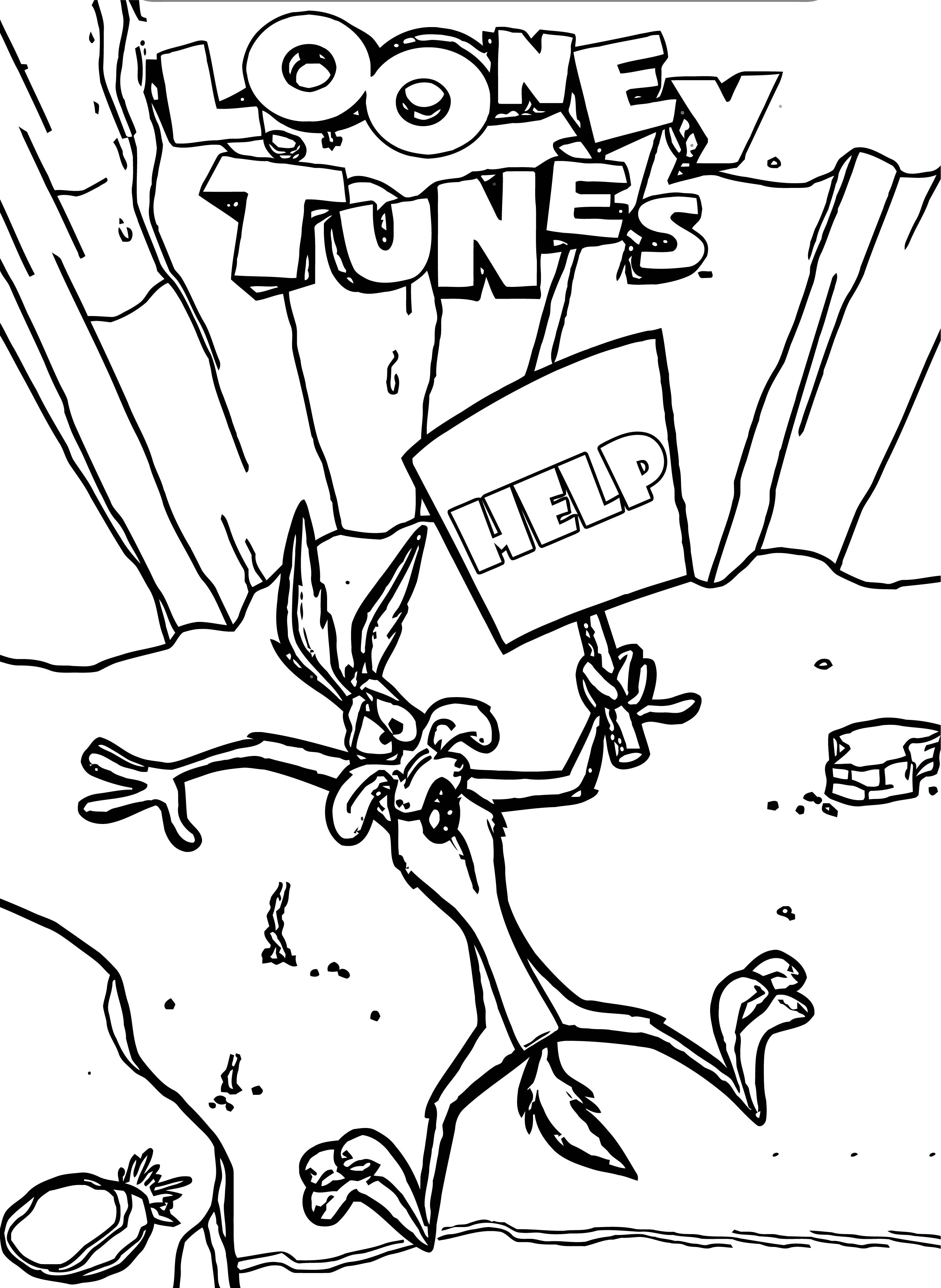 Looney Tunes Vol 1 93 The Looney Tunes Show Coloring Page