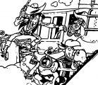 Lucky Luke Desperado Train Europe Coloring Page