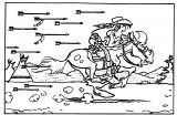 Lucky Luke The Painter Coloring Page