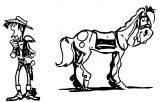 Lucky Luke Wallpapers 5 Coloring Page