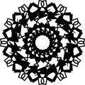 Mandala Coloring Orniment Shape Coloring Page