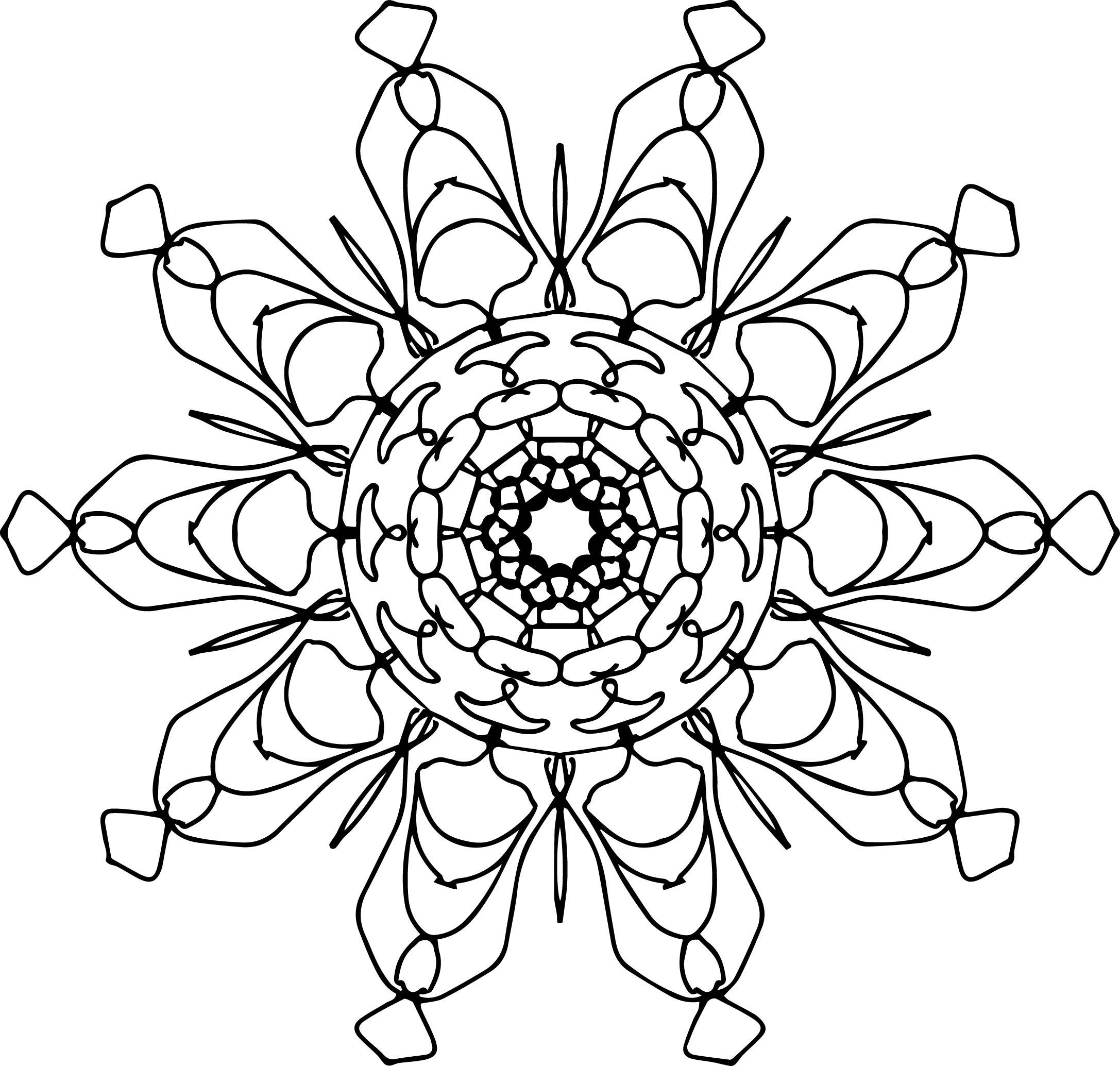 Mandala Coloring Page 30