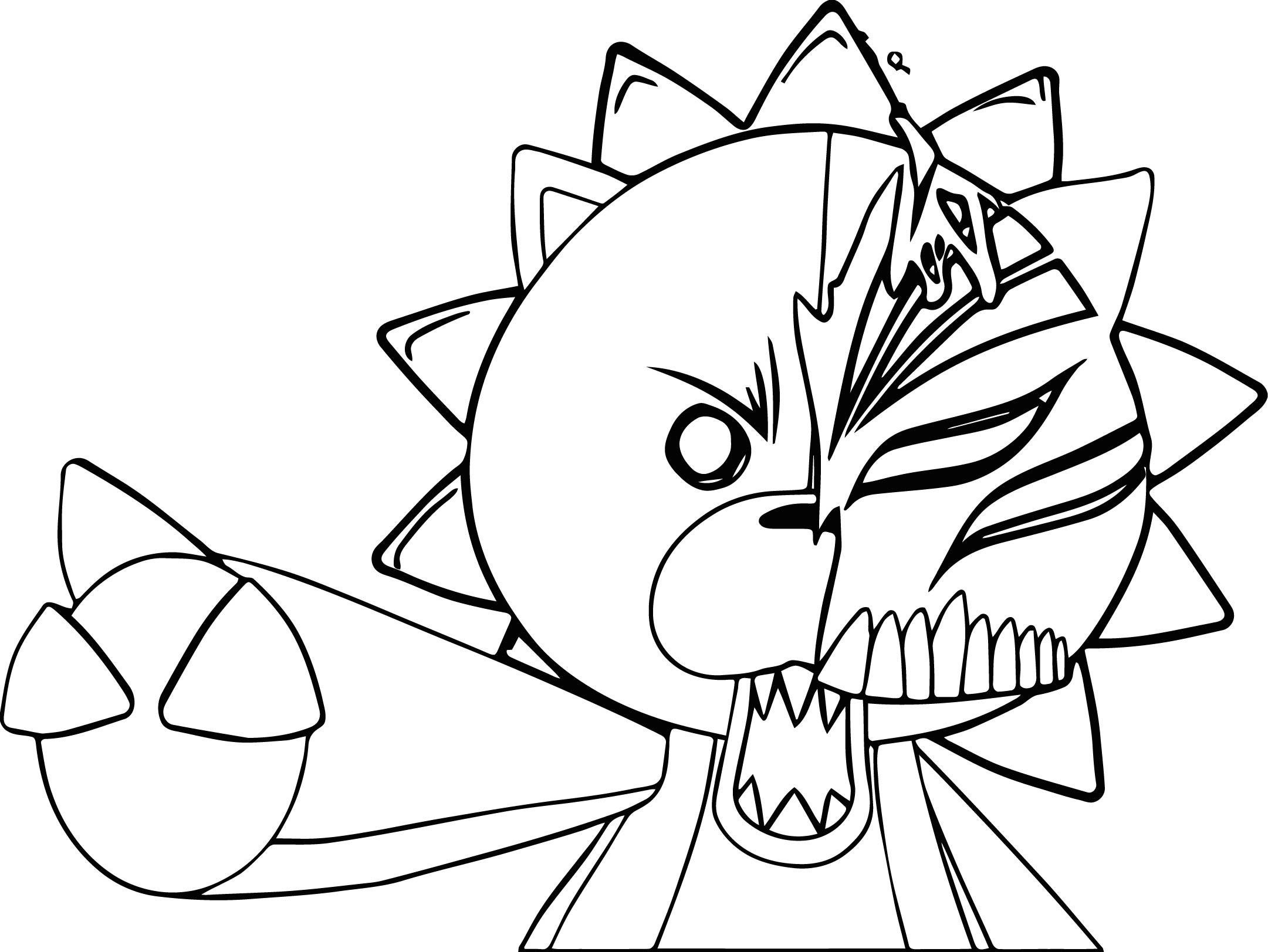 Manga Bear Coloring Page