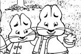 Max And Ruby Best Kids Shows Max And Ruby Coloring Page