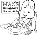 Max And Ruby Breakfast Coloring Page