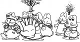 Max And Ruby Five Finger Coloring Page
