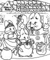 Max And Ruby Halloween Coloring Page