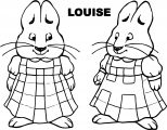 Max And Ruby Louise Coloring Page
