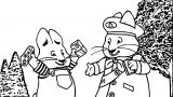 Max And Ruby Me Coloring Page